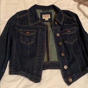Mossimo Cropped Denim Jacket